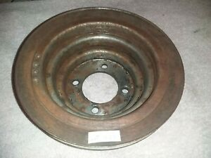 Ford D3ae 6312 C2a 302 351 400 Crankshaft 4 V Belt Pulley Mustang Torino Truck