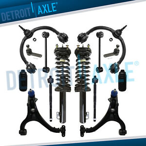 14pc Front Struts Control Arms Tierods For 05 10 Jeep Commander Grand Cherokee
