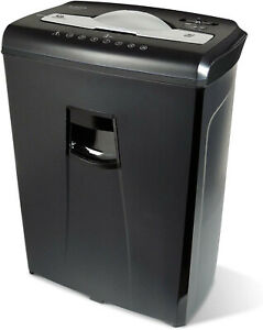 Aurora Au650ma High security 6 sheet Micro cut Paper Credit Card Shredder Free