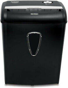 Aurora As890c 8 sheet Cross cut Paper credit Card Shredder With Basket New Free