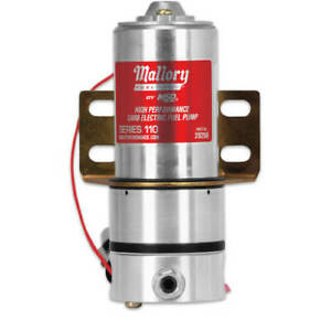 Mallory 29256 Fuel Pump Pro Comp 110 Series Electric External Universal