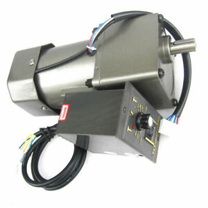 Ac220v 60 90 120w Single Phase Gearbox Motor 7 5 450rpm With Gear Head Cw ccw