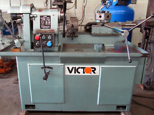Victor Som 461 Second Operation 6 position Turret Manual Lathe