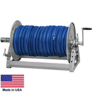 Pressure Washer Sprayer Manual Hose Reel 500 Ft 3 8 Or 375 Ft 1 2 Id Hose