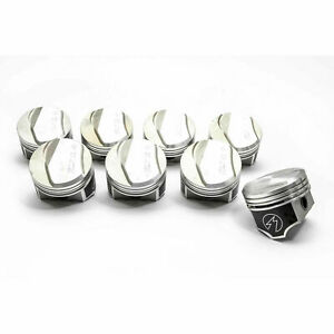 Speed Pro trw Chevy 396 325 350hp Forged 21cc Dome Pistons Set 8 030