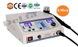 Portable Ultrasound Therapy Machine For Pain Relief With 3 Mhz Chiropractic Unit
