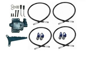 Ford 7000 7600 Tractor Rear Hydraulic Dual Remote Valve Kit