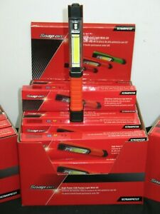 Snap On Tools Red High Power Cob Pocket Light With Uv And Magnetic Pocket Clip