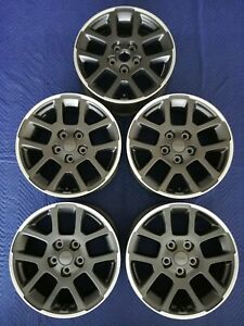 Jeep Gladiator Wrangler Jl Oem 18 Wheels Tpms 5 Pc Set Super Clean