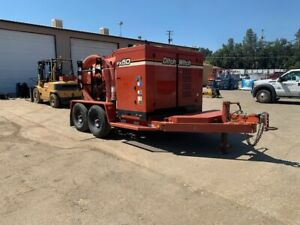2013 Ditch Witch Fx50 300 T a Vacuum Trailer 49hp 1000cfm Low Hours 525 Hrs