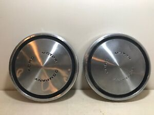Ford Hubcaps Dog Dish Poverty Style 1960s 1970s Fairlane Torino Ranchero Mustang