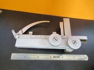 Leitz Wetzlar Germany Stage Clips For Microscope Part As Pictured 5m a 46