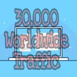 Trusted Organic 30 000 World Wide Website Traffic For 30 Days