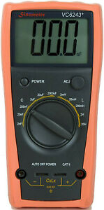 Sinometer Vc6243 An L C Meter Dedicated To Measure Inductance And Capacitance