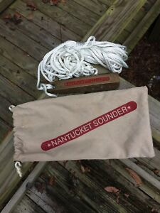 NANTUCKET SOUNDER - SOLID BRONZE Depth Sounder / Lead Line