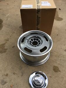 2 17 X 9 American Racing Rally Wheel Vn327 Gray Corvette C3 Nova Malibu S10