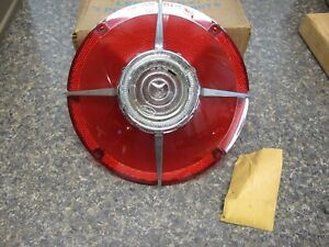 1963 Ford Galaxie 500 Xl Nos Rear Taillight Lens Tail Light New Fomoco