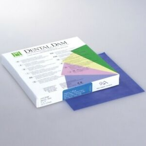 Coltene Whaledent Dental Rubber Dam Sheets Non latex Extra Strength size 5x5