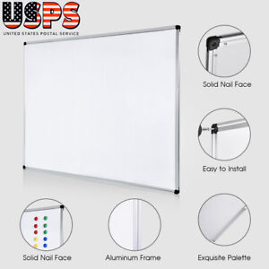 Ymiko 36x48 Inch Whiteboard Magnetic Dry Erase Board For Home Office School Use