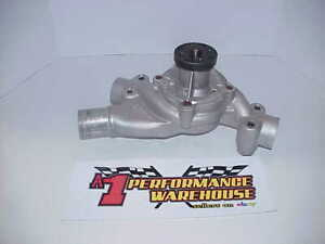 Stewart Short Style Aluminum Sb2 2 Chevy Water Pump From A Nascar Engine Sd6