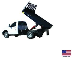 Flat Bed Truck Dump Kit For 8 To 12 Ft Beds 7 5 Ton Capacity Power Power
