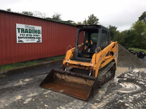 2007 Mustang Mtl16 Compact Track Skid Steer Loader Joystick Controls Cheap