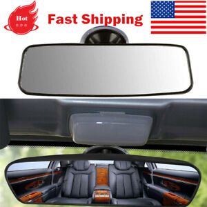 Universal Car Truck Mirror Interior Rear View Mirror Suction Cup 24 6 5 7cm