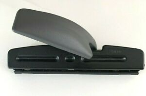 Acco 3 hole Paper Puncher black metal home Office
