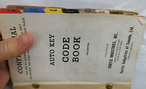 Vintage 1935 69 Chevy Gm Other 19th Edition Curtis Auto Key Code Book Locksmith