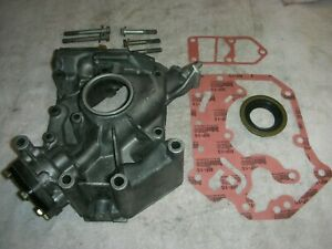 Corvair All Year Hi Po Oil Pump Set 003 New Seal 2 Gaskets 7 Mounting Bolts
