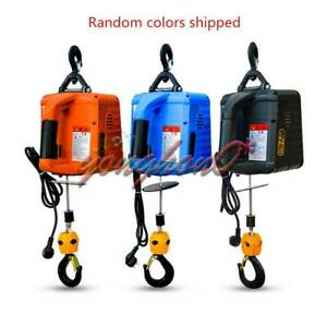 500kg Portable Electric Winch Electric Lifting Traction Hoist Electric Hoist
