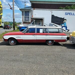 1962 Ford Falcon Station Wagon 6 Cyl Automatic 95 Rust Free