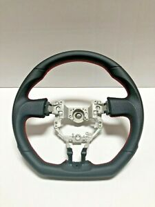 Toyota Fr S Frs Subaru Brz 13 17 Performance Leather Flat Bottom Steering Wheel