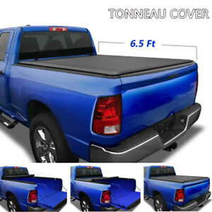 6 5ft Bed Roll Up Tonneau Cover Fit 2009 2018 Dodge Ram 1500 2010 2018 2500 3500