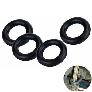 4pc O ring Exhaust Hanger Mount Rubber Exhaust Insulator Grommet Bushing Support
