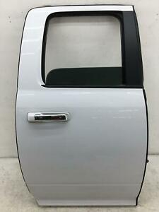 2009 2018 Dodge Ram 1500 Right Rear Door Shell Bright White pw7 Oem 2017 2016