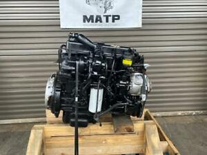 1989 Nissan Ud1100 Fd35t Diesel Engine Turbo Mechanical Knd0211eab5 Fd35 001955t