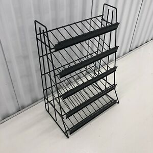 Brand New Chips Assorted Candy And Snack Metal Shelf Counter Display Rack 15x21
