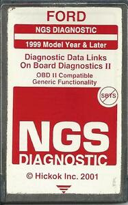 Ford Ngs Obd2 Diagnostic 1999 To 2004 red Card