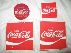 Coca Cola patch lot used on Salesman shirts and jackets