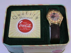 Vintage Coca-Cola Watch and TIn (L3)