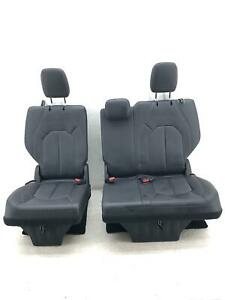 2017 2020 Chrysler Pacifica Rear Third Row Seat Set Black Leather Manual 2019