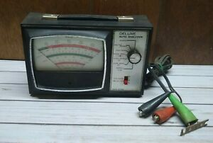 Vintage Sears Deluxe Auto Engine Analyzer Model 244 2142 Made In Usa