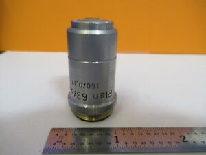 Reichert Austria Objective 63x 160 Optics Microscope Part As Pictured h8 c 07