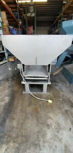 Fortville Feeders Vibratory Hopper W Stainless Steel Tray dimensions In Photos