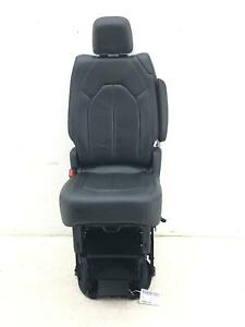 2017 2020 Chrysler Pacifica Left Rear Second Row Seat Black Leather Manual Oem