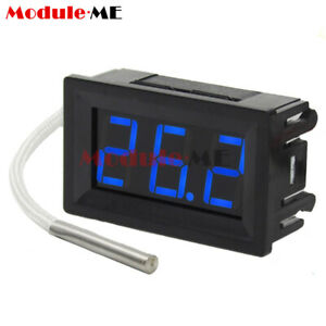 Dc 12v K Type Thermocouple Digital Display Thermometer Temperature Meter