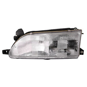 Fits 93 97 Toyota Corolla Headlight Headlamp Driver Side New