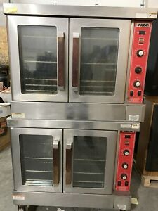 Vulcan Gas Convection Oven Model Sg4d 1 Commercial Double Deck Full Size