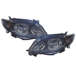 Left And Right Pair Capa Headlights Fits 2009 2010 Toyota Corolla S xrs